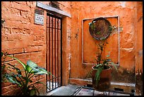 Artistically decorated entrance to a home , Puerto Vallarta, Jalisco. Jalisco, Mexico ( color)