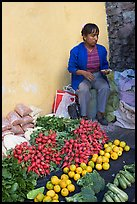 Vegetable street vendor. Guanajuato, Mexico