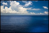 Blue Gulf waters. Cozumel Island, Mexico ( color)