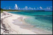 Sandy beach. Cozumel Island, Mexico ( color)