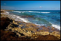 Rocky shoreline near Punta Sur. Cozumel Island, Mexico ( color)