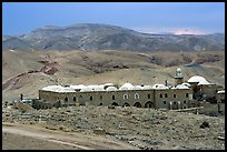 Nabi Musa Monastery in the Judean Desert. West Bank, Occupied Territories (Israel) (color)