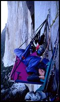 Waking up on the portaledge
