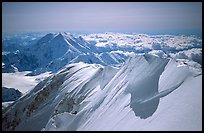 Summit Ridge of Mt McKinley. Denali National Park ( color)