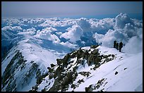 Upper section of West Buttress of Mt McKinley. Denali National Park ( color)