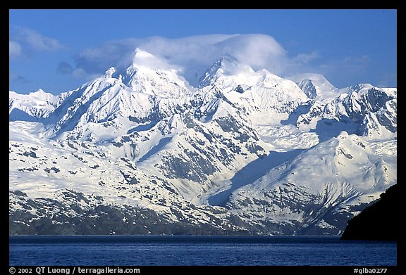 The Fairweather range, West arm. Glacier Bay National Park, Alaska, USA.