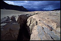 Deep gorge carved by the Lethe River, Valley of Ten Thousand Smokes. Katmai National Park, Alaska, USA. (color)