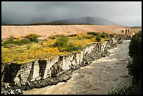 Ukak River carving gorge in Valley of Ten Thousand Smokes. Katmai National Park ( color)