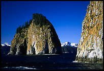 Islands in Aialik Bay. Kenai Fjords National Park ( color)
