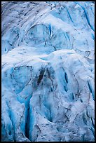 Detail of steep section of Exit Glacier. Kenai Fjords National Park ( color)
