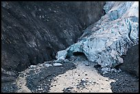 Front of Exit Glacier, 2016. Kenai Fjords National Park ( color)