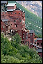 Kennecott mill. Wrangell-St Elias National Park, Alaska, USA. (color)