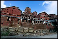 Historic Kennecott Mill. Wrangell-St Elias National Park ( color)