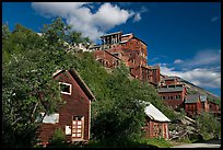 Kennecott mill town. Wrangell-St Elias National Park ( color)