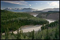 Kuskulana river. Wrangell-St Elias National Park ( color)