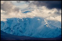 North face of Mount Blackburn. Wrangell-St Elias National Park ( color)
