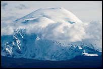 Mount Blackburn. Wrangell-St Elias National Park ( color)