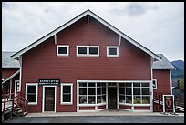 Kennecott post office reconverted into visitor center. Wrangell-St Elias National Park ( color)