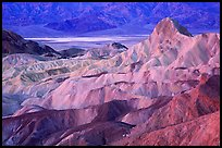 Zabriskie point, dawn. Death Valley National Park ( color)
