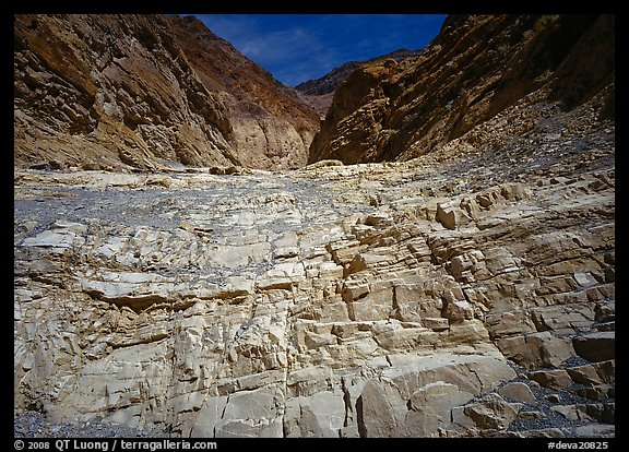 Mosaic Canyon. Death Valley National Park (color)