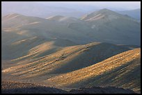 Tucki Mountains in haze of late afternoon. Death Valley National Park ( color)