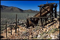 Cashier's mine in the Panamint Mountains, morning. Death Valley National Park ( color)