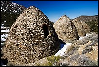 Charcoal kilns. Death Valley National Park, California, USA.