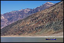 Canoe and Black Mountains. Death Valley National Park ( color)