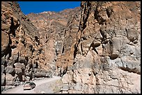 Titus Canyon Narrows. Death Valley National Park ( color)
