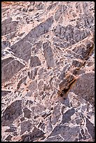 Detail of marbled wall, Titus Canyon. Death Valley National Park ( color)