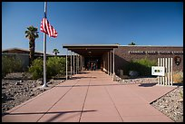 Furnace Creek Visitor Center. Death Valley National Park ( color)