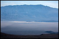Panamint Valley and Playa from above. Death Valley National Park ( color)