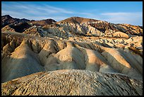 Twenty Mule Team Canyon badlands. Death Valley National Park ( color)