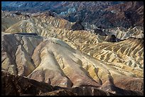 Zabriskie Point observation platform. Death Valley National Park ( color)