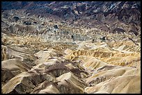 Badlands near Zabriskie Point. Death Valley National Park ( color)