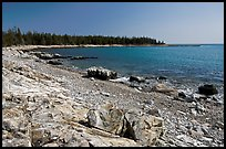 Barred Harbor, Isle Au Haut. Acadia National Park, Maine, USA.