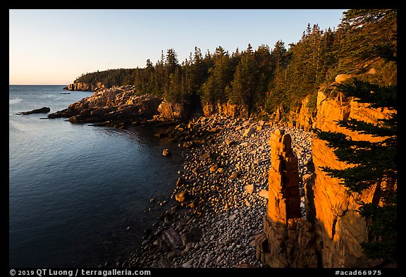 Monument Cove. Acadia National Park (color)