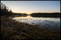 West Pond at sunrise, Schoodic Peninsula. Acadia National Park ( color)