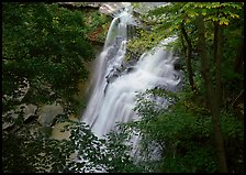 Brandywine falls in forest. Cuyahoga Valley National Park ( color)