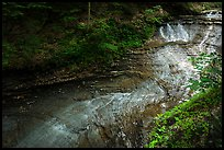 Bridal Veil Falls with low flow, Bedford Reservation. Cuyahoga Valley National Park ( color)