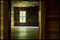 Room in Caldwell House, Big Cataloochee, North Carolina. Great Smoky Mountains National Park ( color)