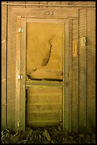 Door near Palmer House, Little Cataloochee, North Carolina. Great Smoky Mountains National Park ( color)