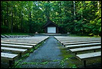 Amphitheater, Elkmont Campground, Tennessee. Great Smoky Mountains National Park ( color)
