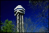 Hot Springs mountain tower. Hot Springs National Park ( color)