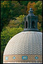Dome of Quapaw Baths. Hot Springs National Park ( color)