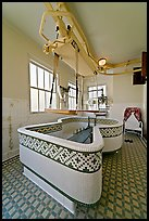 Hubbard Tub room. Hot Springs National Park ( color)