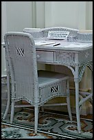 Desk in assembly room. Hot Springs National Park ( color)