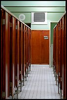 Mens dressing room. Hot Springs National Park ( color)