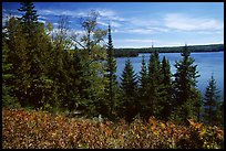 Lake Richie. Isle Royale National Park ( color)