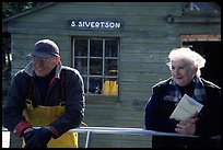 Silvertson family have been running commercial fishing operation for decades. Isle Royale National Park ( color)